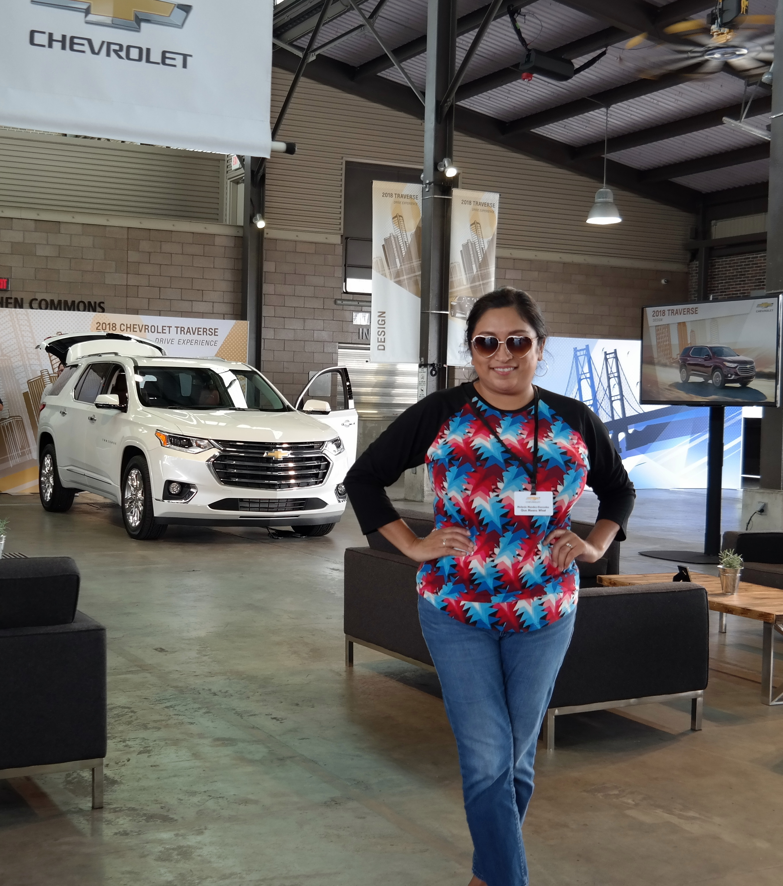2018 Chevrolet Traverse Drive Experience