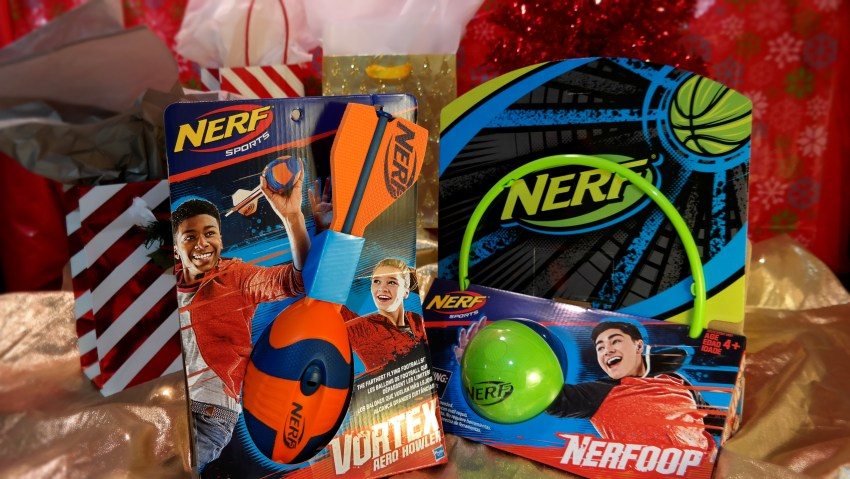 Nerf Sports at Academy Sports + Outdoors on QueMeansWhat.com Gift Guide