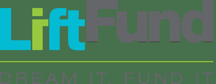 LiftFund Logo and Tagline. Dream it. Fund It.