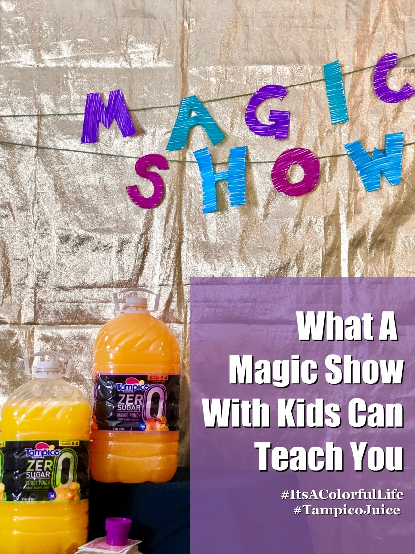 What A Magic Show With Kids Can Teach You - QueMeansWhat.com