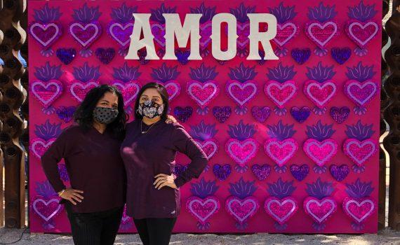 SA IS AMOR - Amor Wall by Martha Martinez-Flores