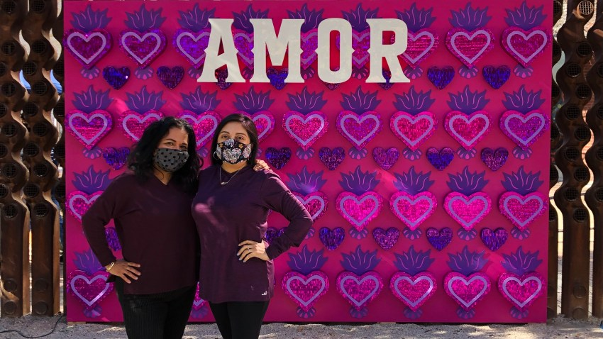 SA IS AMOR - Amor Wall by Martha Martinez-Flores