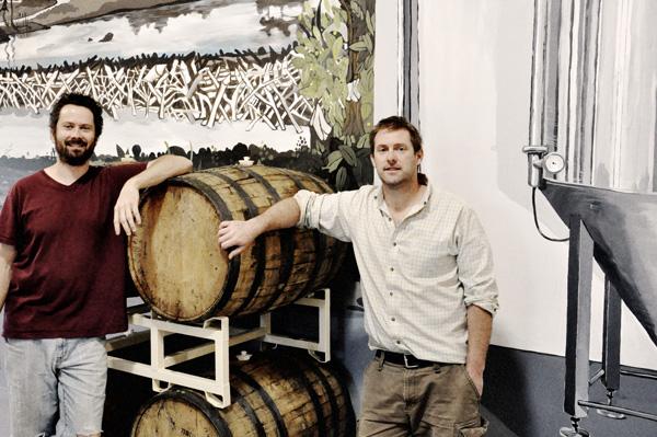 Daniel Addey-Jibb and Murray Elliott from Le Castor Brewing Co.