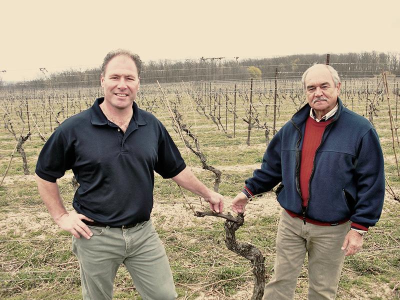 winemaker Brian Schmidt and viticulturist Roman Prydatkewycz