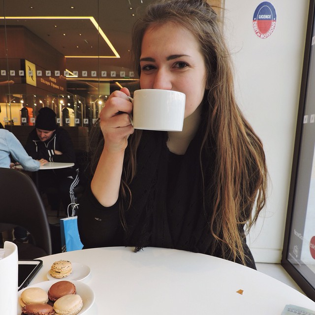 Maddy Latte and Macaron