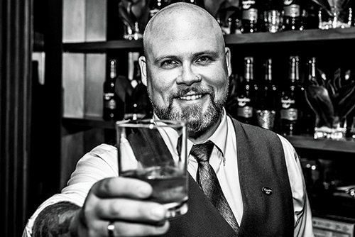 """I KNOW MORE MBAS THAT ARE GETTING INTO THE TRADE THAN STUDENTS TRYING TO MAKE ENDS MEET."" MATT JONES, A BARTENDER AND WHISKY AMBASSADOR FOR BEAM SUNTORY CANADA"