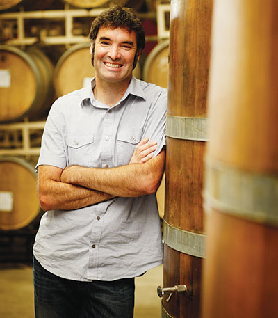Michael Davies at A to Z Wineworks