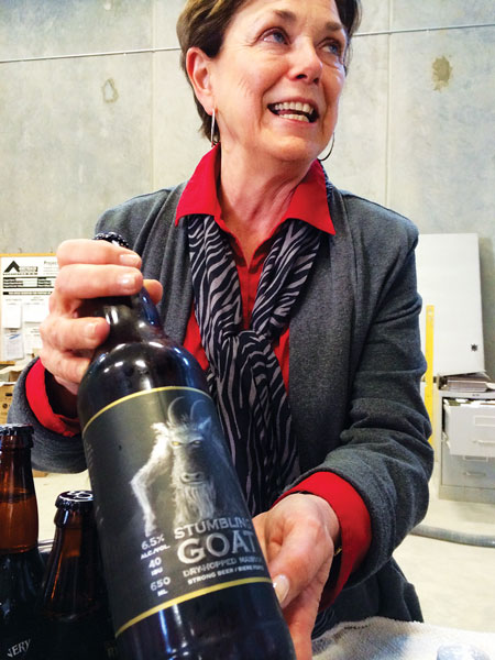 Patt Dyck, co-owner of the Cannery Brewery