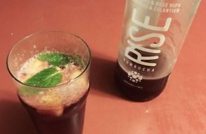 RISE Kombucha Mocktail
