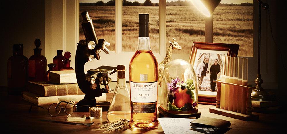 Glenmorangie whisky distiller