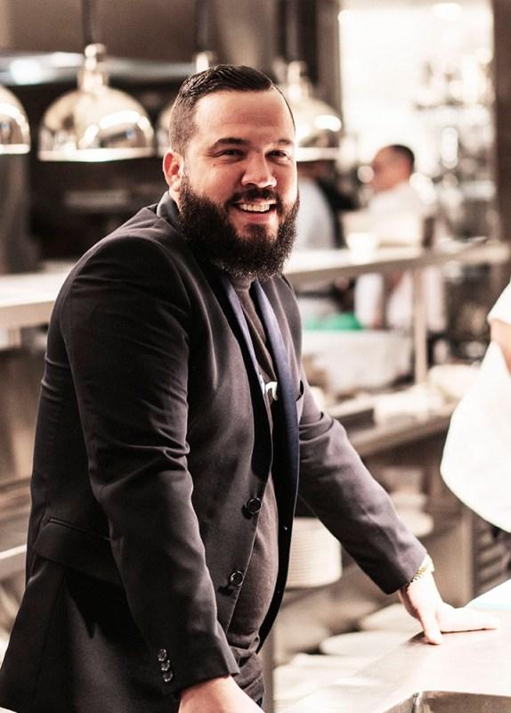 Chef Marcel Larrea