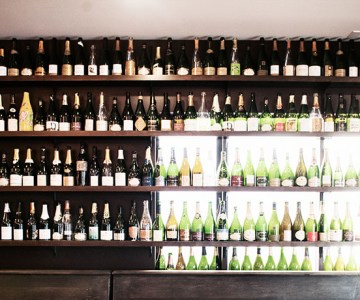 Willamette Valley Pix - Wall of Champagne