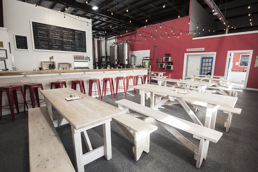 Noteworthy 2019 Canadian Breweries : Landwash Brewery Taproom