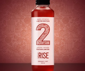 Rise Kombucha Apple X Cinnamon Review
