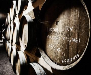 Chateau de la Greffiere barrels - a French winemaking tradition