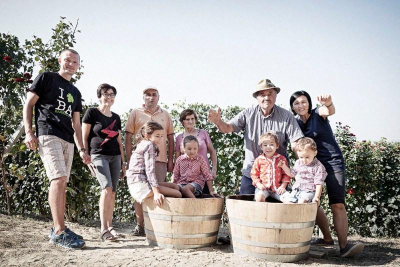 Giuseppe Cortese family