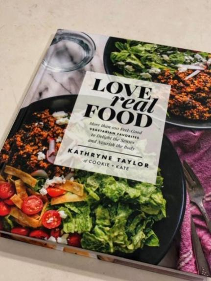 love real food front cover