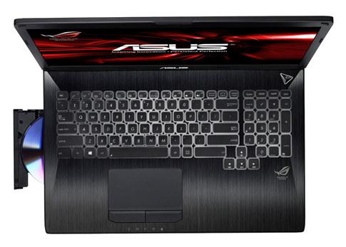 comprar o notebook asus rog com teclado bacana