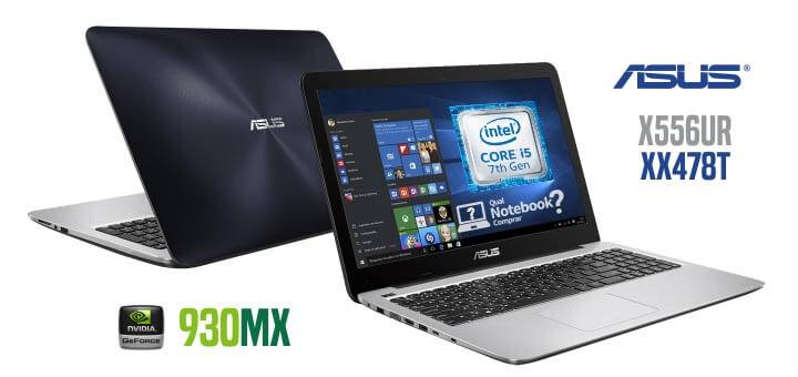 Notebook ASUS X556UR-XX478T Core i5 de 7ª Geração