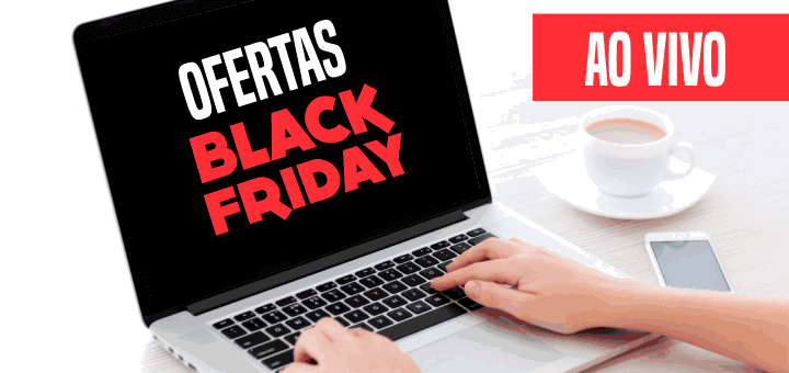 O melhor da Black Friday Notebook 2017 ao vivo