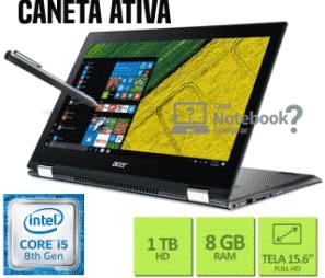 Notebook 2 em 1 Acer SP515-51N-50BY Spin 5