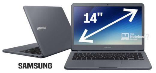 Notebook samsung Expert tela 14