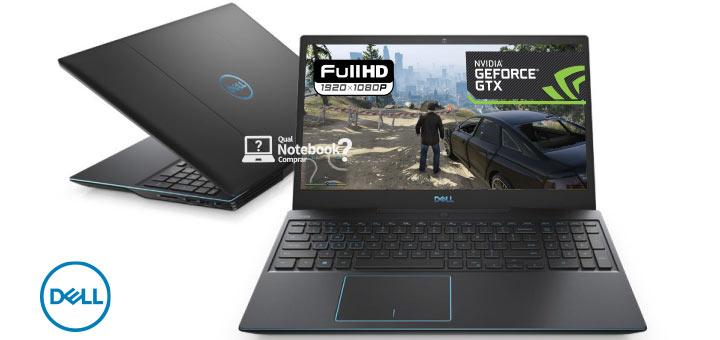 Notebook para jogos pesados novo da Dell G3-3590 brasil