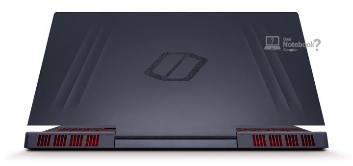 Samsung Odyssey 2 NP850XBC-XG1BR acabamento metal preto