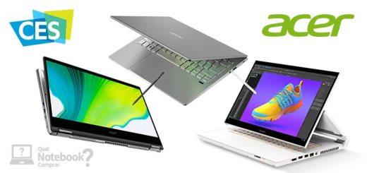 Acer CES 2020 novidades