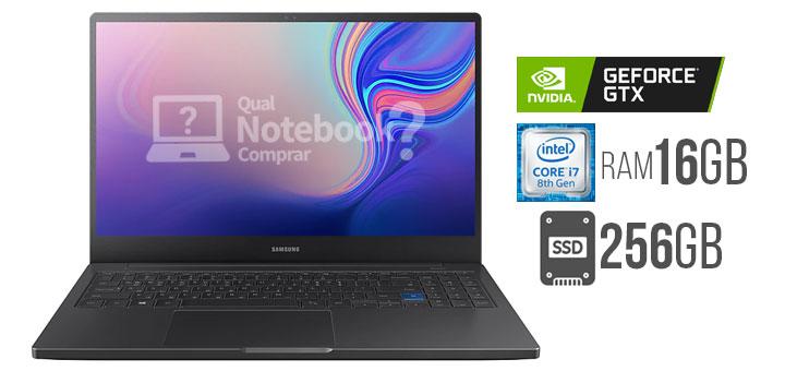 Configuração Notebook Samsung Style S51 Pro configuração Intel Core i7 GTX 1650
