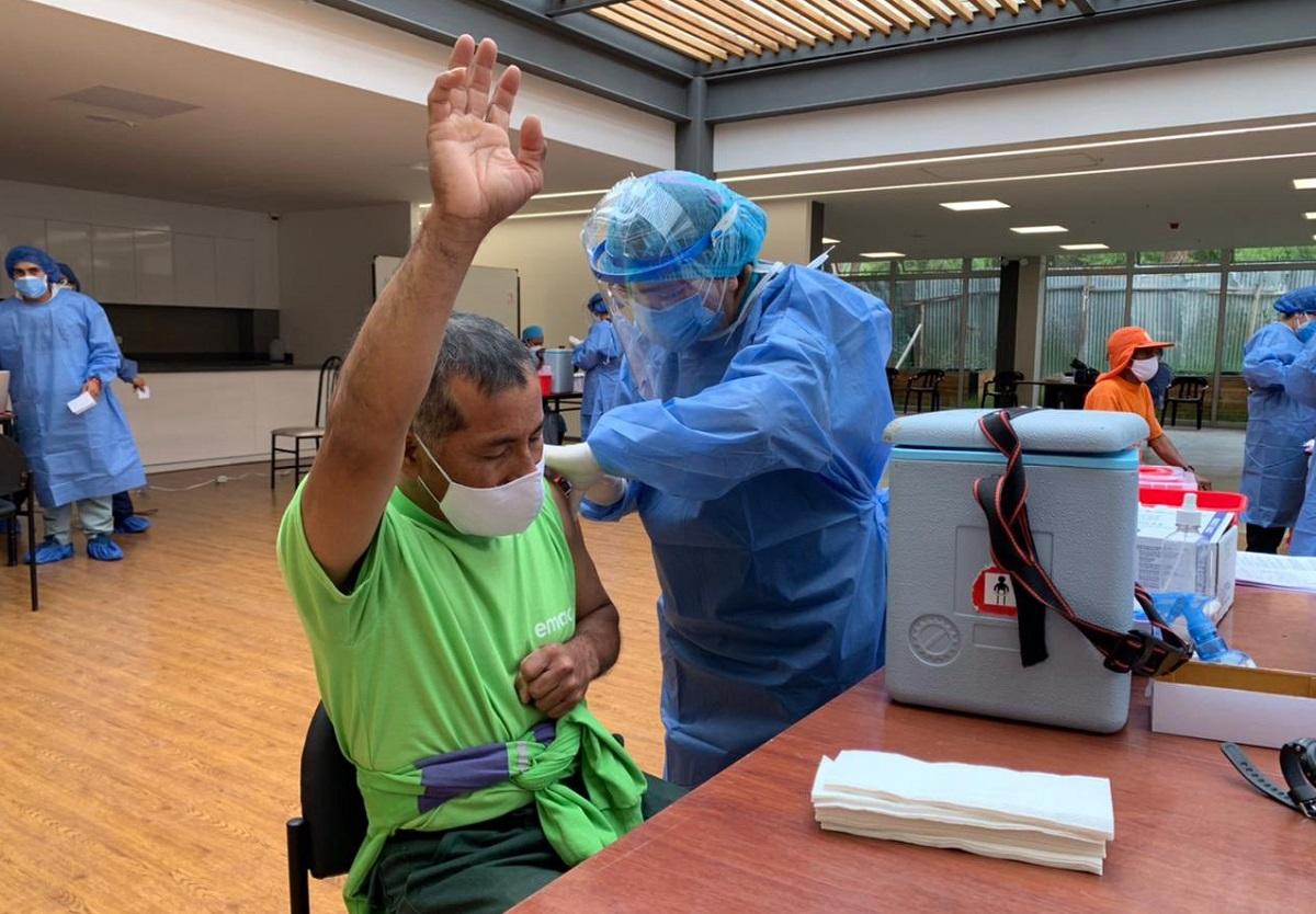 Vacunación Trabajadores Aseo Cuenca