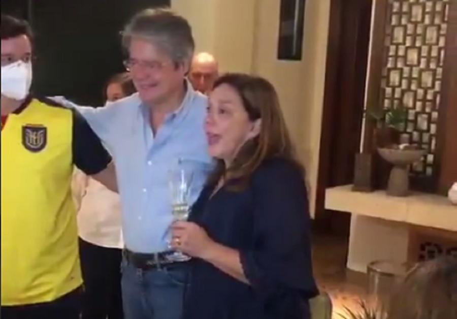Resultados elecciones esposa de Guillermo Lasso