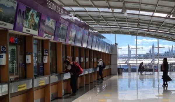 terminales terrestres Quito