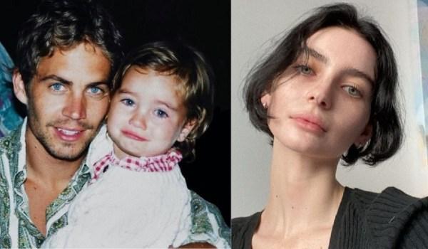 hija de Paul Walker