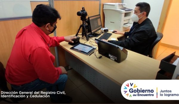 Registro Civil pasaporte