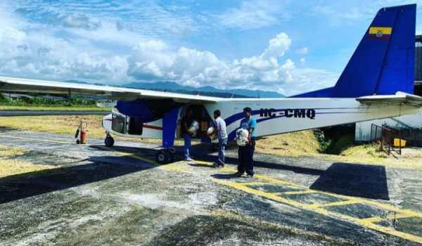 Avioneta de empresa Aeroconexos sufre accidente al despegar