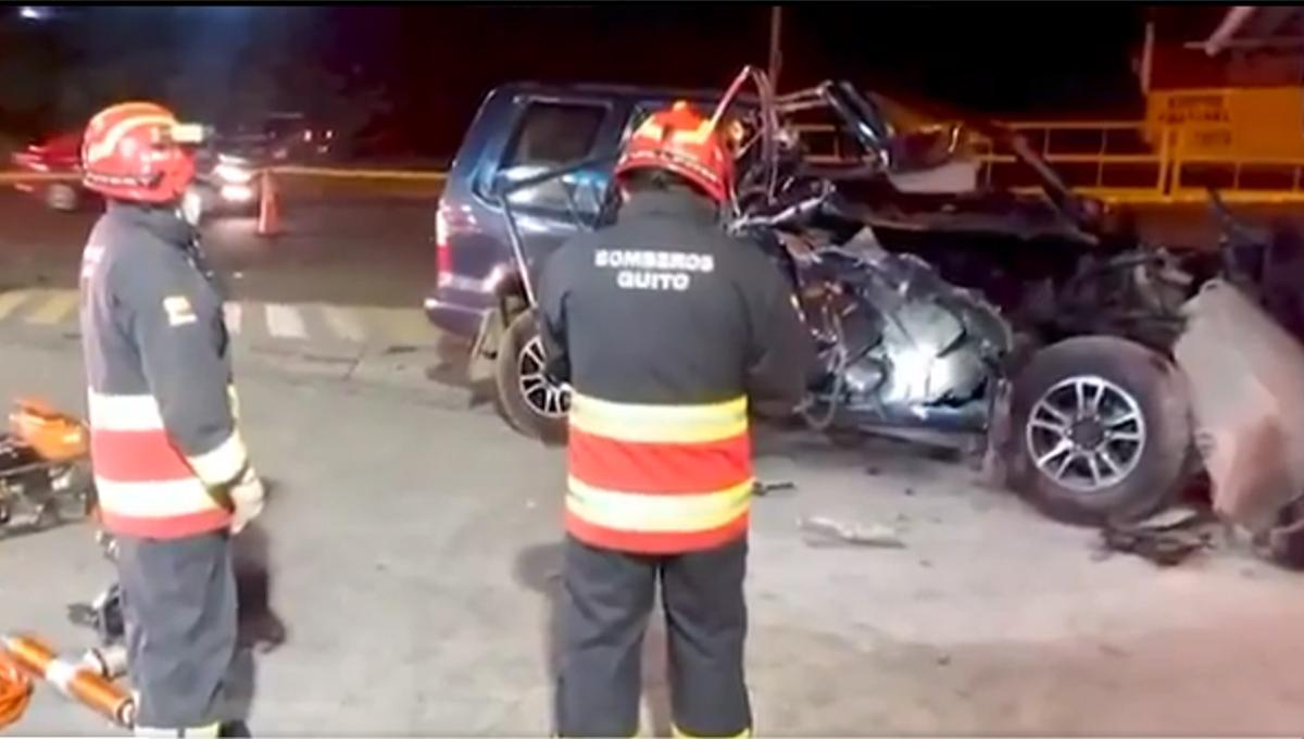 accidente en Quito