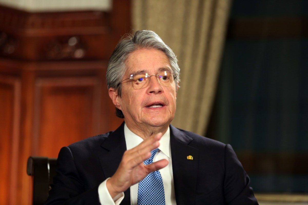 """Guillermo Lasso durante su Mensaje a la Nación, expuso la propuesta de """"Ley de Creación de Oportunidades"""". Foto: Presidencia de la República."""