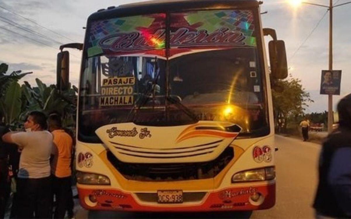 asalto en bus