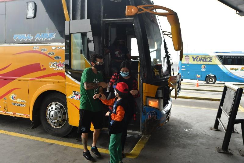 aforo buses interprovinciales
