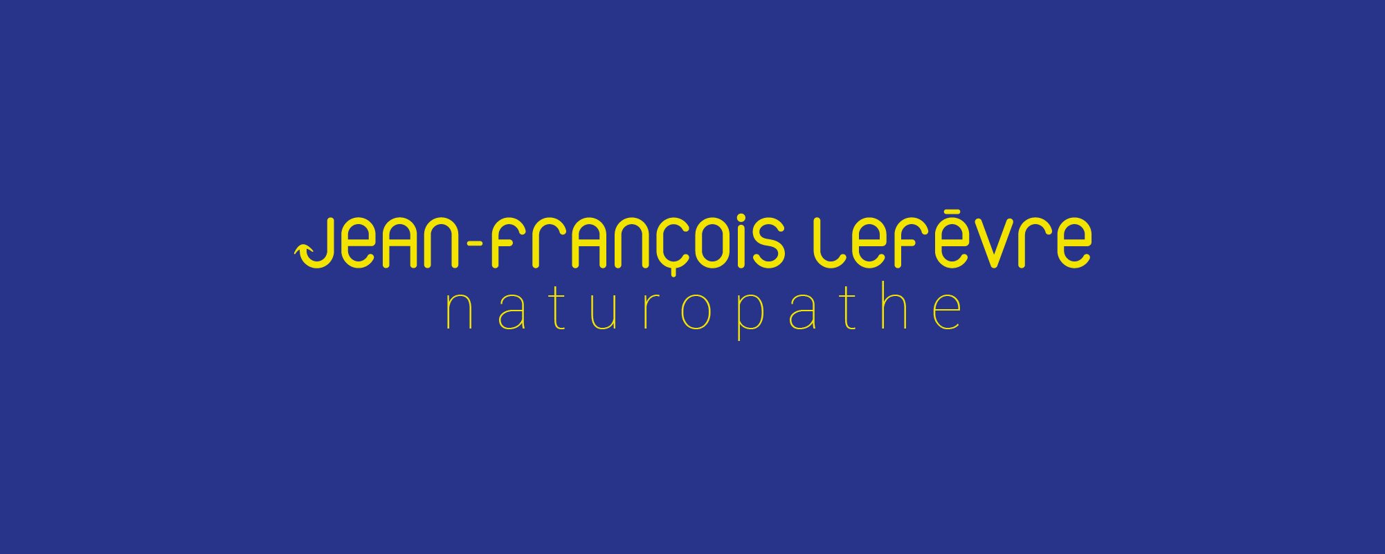 JEAN FRANCOIS LEFEVRE – NATUROPATHE LOGO