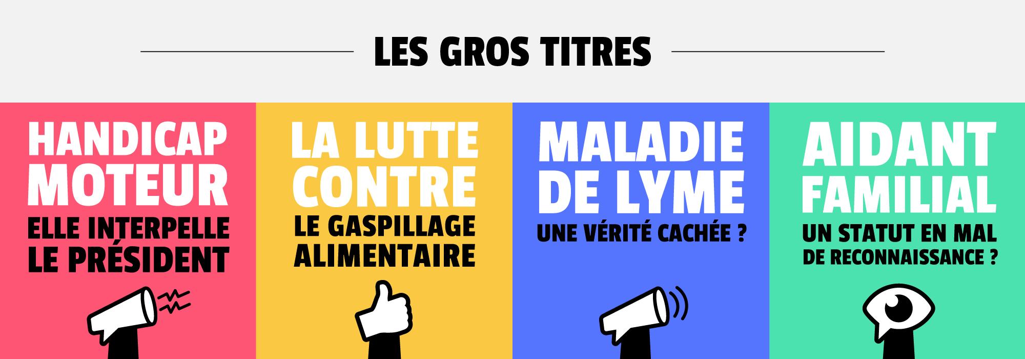 L'AVIS DES GENS – GROS TITRES