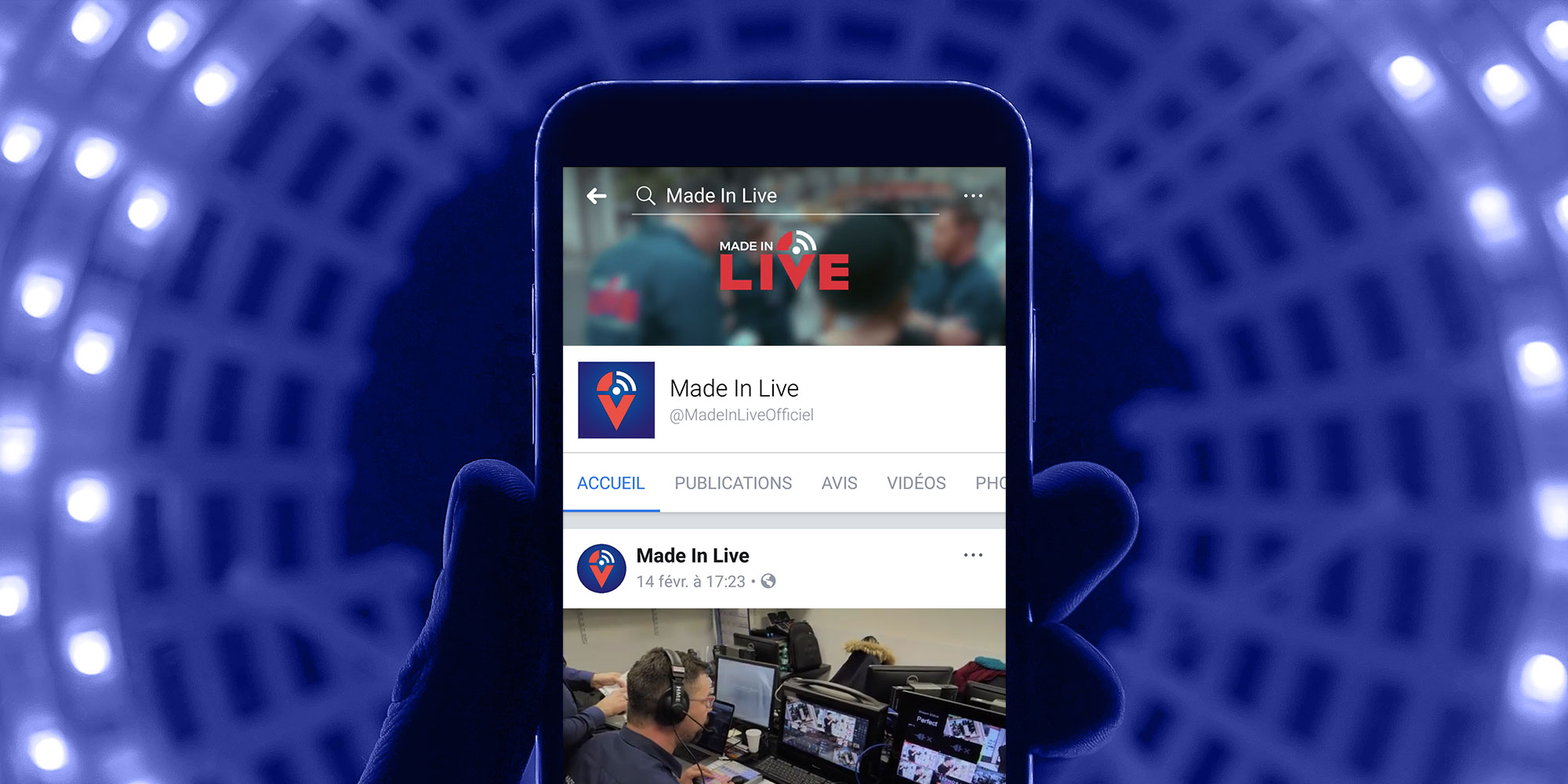MADE IN LIVE – FACEBOOK