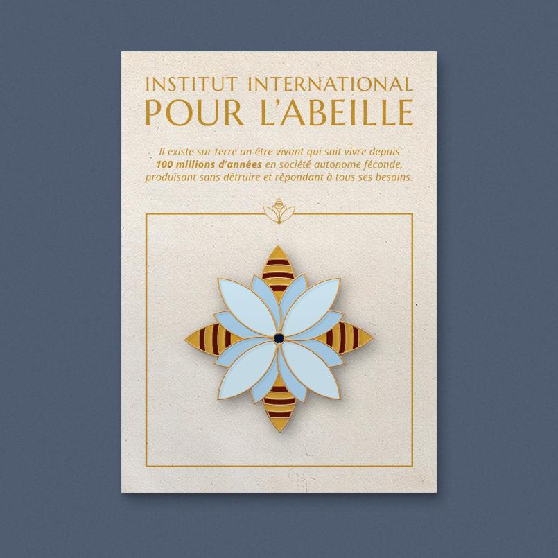 PIN FLEUR – INSTITUT INTERNATIONAL POUR L'ABEILLE
