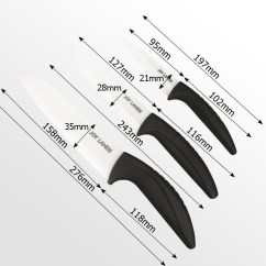 Ceramic Kitchen Knives Building Your Own Cabinets Set |