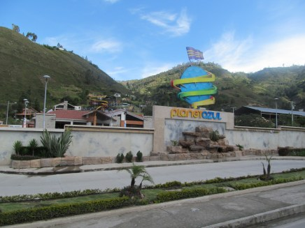 Waterpark outside Gualaceo, Ecuador