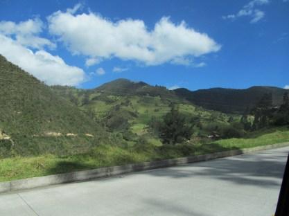On the way to Vilcabamba