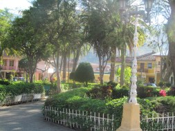 Park in Vilcabamba, forget the name of it.
