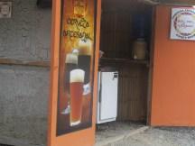 Hand crafted beer and natural soda (honey, lemon, ginger) sooooo good!