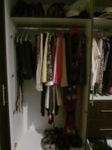 Completed closet...I hope